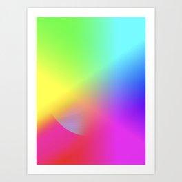 Rainbow series II Art Print