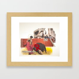 Twilight of the Matador Framed Art Print