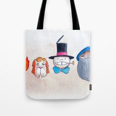 Make the Unlikeliest of Friends, Wherever You Go 3 Tote Bag