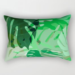 Emerald Jungle Rectangular Pillow