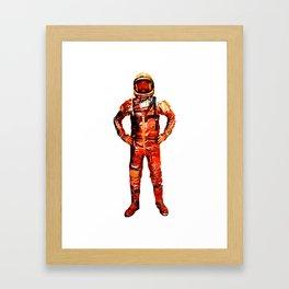 Astronaut James Framed Art Print