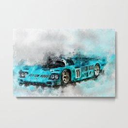 962 Le Mans 1987 Metal Print