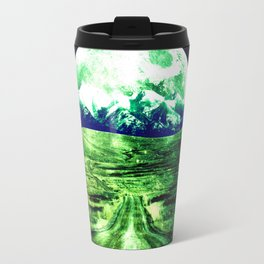 Highway to Eternity  Green Blue Travel Mug