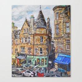 Cockburn Street, Edinburgh Canvas Print