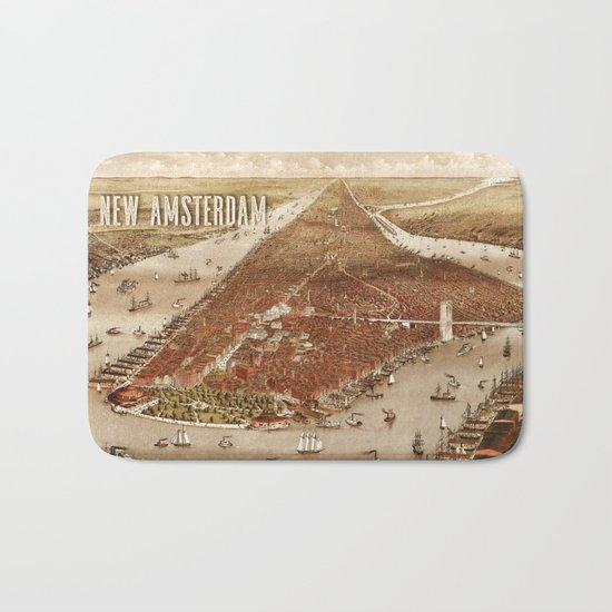 New Amsterdam - 1880 Bath Mat