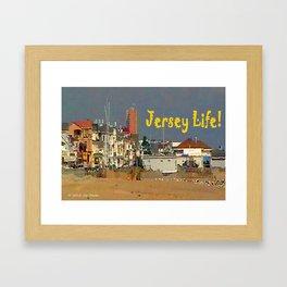 Jersey Life Framed Art Print