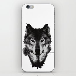 wolfblossom iPhone Skin