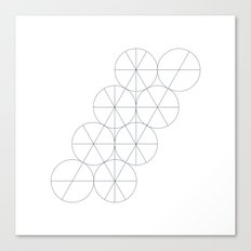 #439 Pivotal – Geometry Daily Canvas Print