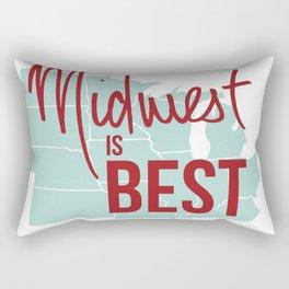 Midwest is Best Rectangular Pillow