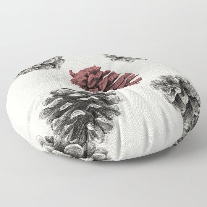 Pine cones Floor Pillow