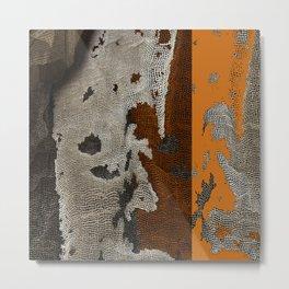 Abstract textured art work Metal Print