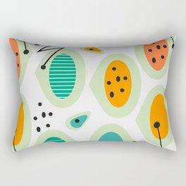 Mid-century abstraction Rectangular Pillow