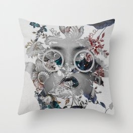 Beauty in Chaos Throw Pillow