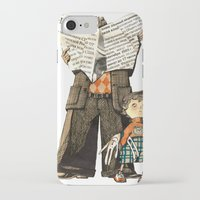 dad iPhone & iPod Cases featuring Dad by Ekaterina Bauman