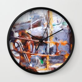 In harbour Wall Clock
