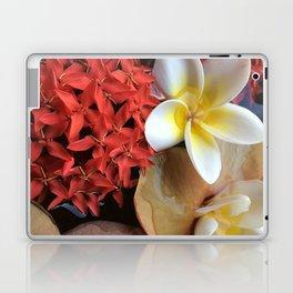 Frangipani & Ixora Laptop & iPad Skin