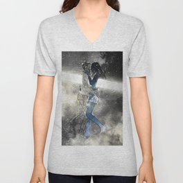 Deepest touch of souls. Unisex V-Neck