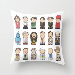 Robin Williams  Throw Pillow