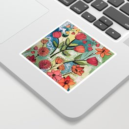 Floral Rhythm Sticker