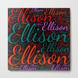 Ellison Metal Print