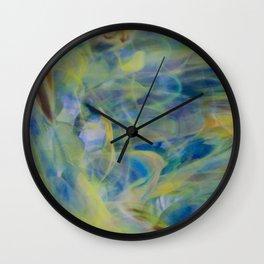 Waterfront Petals Wall Clock