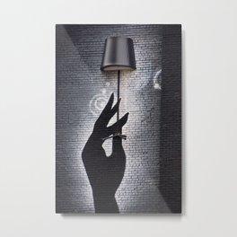Lampadaire Metal Print