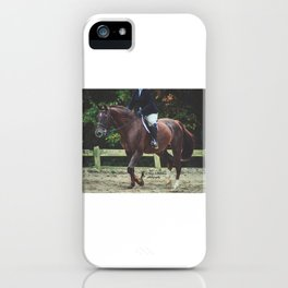 """""""All Riders Trot Please, All Riders Trot"""" iPhone Case"""