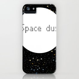 Space dust iPhone Case