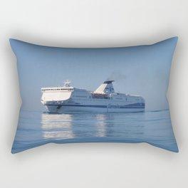 Mediterranean Ferry Rectangular Pillow