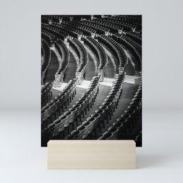 assigned seating Mini Art Print