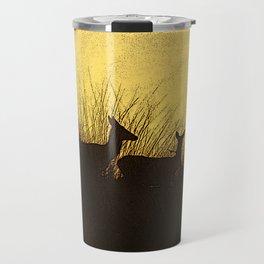 Safari Deer Travel Mug