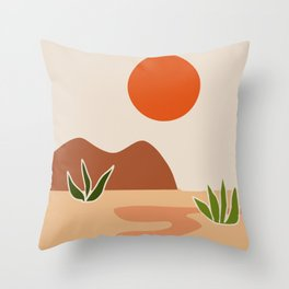 Two succulent Throw Pillow