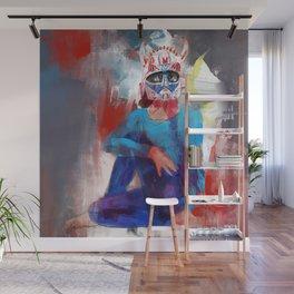 Yoga Devil Horn Mask - 647. Wall Mural
