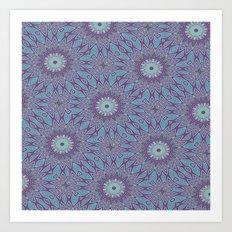 Gypsy Floral Art Print