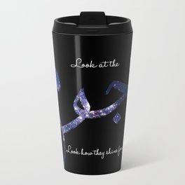 Stars - Arabic Typography Metal Travel Mug