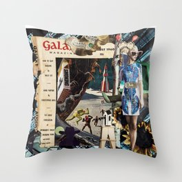 No Smoking in Space Throw Pillow