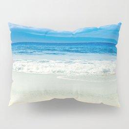 Beach Blue Kapalua Golden Sand Maui Hawaii Pillow Sham