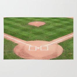 Baseball field Rug