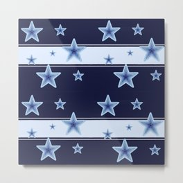 Oh my stars! And stripes! Metal Print
