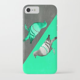 Pigeon's reflexion iPhone Case