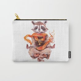 Raccoon meditates (female) Carry-All Pouch