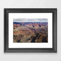 The Grand Canyon South Rim Framed Art Print