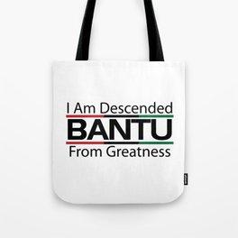 RBG/Pan-African Bantu Descended Tote Bag