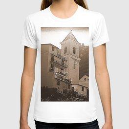 High Noon Riomaggiori Sepia T-shirt