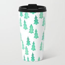 Christmas Tree Forest Travel Mug