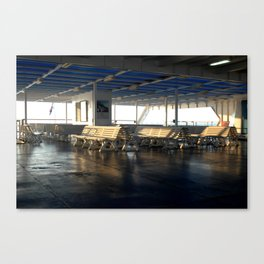 """Sunrise aboard"" Canvas Print"