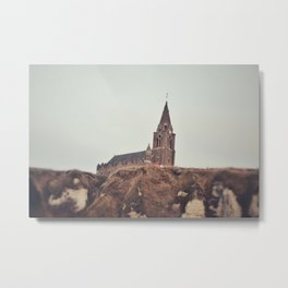 Notre Dame de Bon Secours Metal Print
