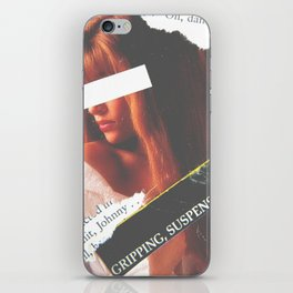 Damnit! So Gripping and Suspenseful! iPhone Skin