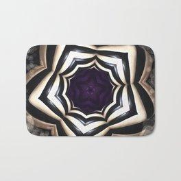 Dark Mandala #2 Bath Mat