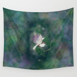 Caper flower Wall Tapestry